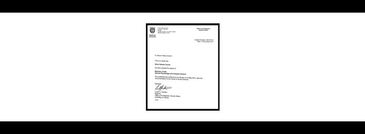 uvic registrar letter computer science